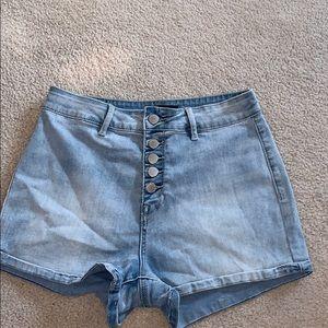 pacsun: kendall & kylie jean shorts